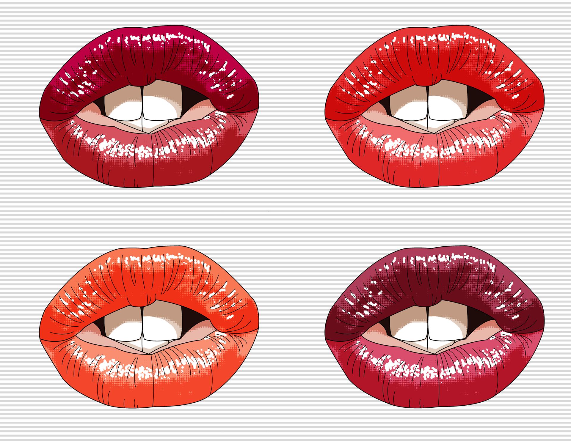 Kayla Broberg   Illustrated Lip Series